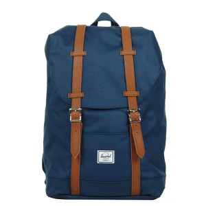 Herschel Sac à dos Retreat Mid-Volume navy/tan Pas Cher