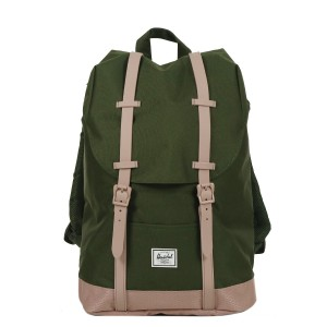 Herschel Sac à dos Retreat Mid-Volume forest night/ash rose Pas Cher