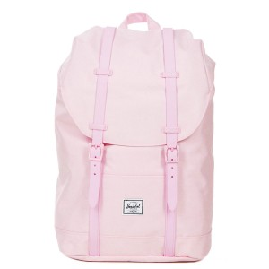 Herschel Sac à dos Retreat Mid-Volume pink lady crosshatch Pas Cher