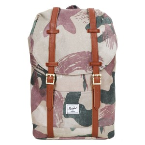 Herschel Sac à dos Retreat Mid-Volume brushstroke camo Pas Cher
