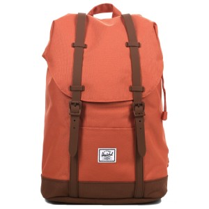 Herschel Sac à dos Retreat Mid-Volume apricot brandy/saddle brown [ Soldes ]