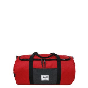 Herschel Sac de voyage Sutton 59 cm barbados cherry crosshatch/black crosshatch [ Soldes ]