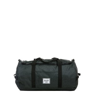 Herschel Sac de voyage Sutton 59 cm black crosshatch/black rubber [ Promotion Black Friday 2020 Soldes ]