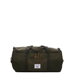 Herschel Sac de voyage Sutton 59 cm olive night crosshatch/olive night [ Promotion Black Friday 2020 Soldes ]