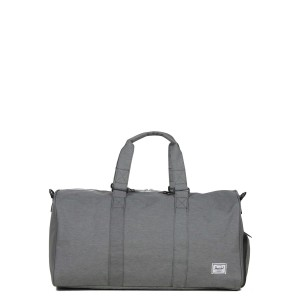 Herschel Sac de voyage Novel Mid-Volume 53 cm mid grey crosshatch [ Soldes ]