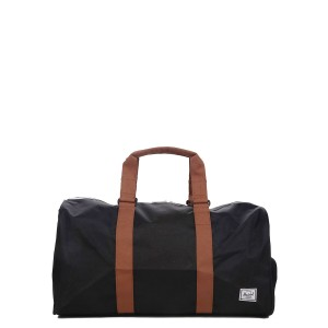 Herschel Sac de voyage Novel Mid-Volume 53 cm black/saddle brown [ Soldes ]