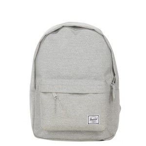 Herschel Sac à dos Classic Mid-Volume light grey crosshatch [ Soldes ]