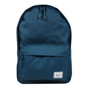 Herschel Sac à dos Classic Mid-Volume deep teal [ Promotion Black Friday 2020 Soldes ]