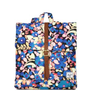 Herschel Sac à dos City Mid-Volume painted floral Pas Cher