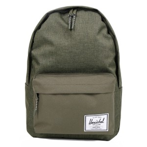 Herschel Sac à dos Classic XL olive night crosshatch/olive night [ Promotion Black Friday 2020 Soldes ]