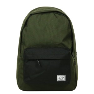 Herschel Sac à dos Classic forest night/black Pas Cher