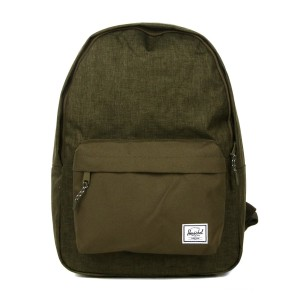 Herschel Sac à dos Classic olive night crosshatch/olive night [ Promotion Black Friday 2020 Soldes ]