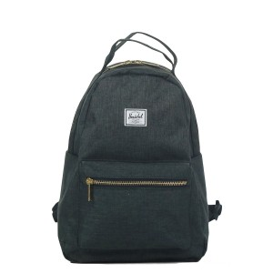 Herschel Sac à dos Nova X-Small black crosshatch Pas Cher