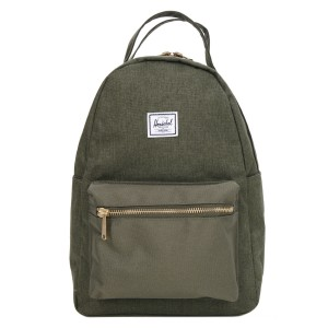 Herschel Sac à dos Nova X-Small olive night crosshatch/olive night Pas Cher