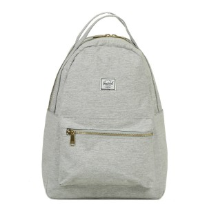 Herschel Sac à dos Nova Mid-Volume light grey crosshatch Pas Cher