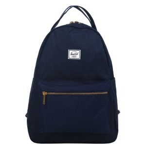 Herschel Sac à dos Nova Mid-Volume medievel blue crosshatch/medievel blue Pas Cher