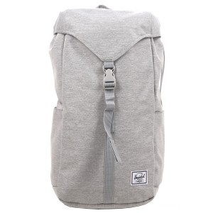 Herschel Sac à dos Thompson light grey crosshatch Pas Cher