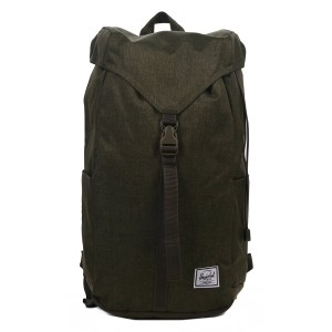 Herschel Sac à dos Thompson olive night crosshatch Pas Cher