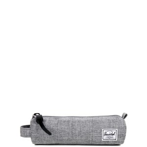 Herschel Trousse Settlement Case X-Small raven crosshatch Pas Cher