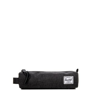 Herschel Trousse Settlement Case X-Small black crosshatch [ Soldes ]