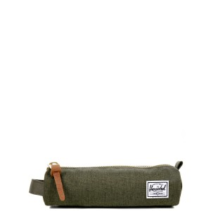 Herschel Trousse Settlement Case X-Small olive night crosshatch/olive night Pas Cher