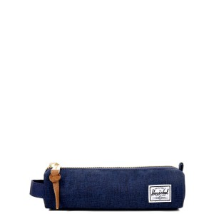 Herschel Trousse Settlement Case X-Small medievel blue crosshatch/medievel blue Pas Cher
