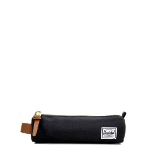 Herschel Trousse Settlement Case X-Small black/saddle brown Pas Cher