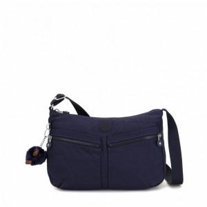 Kipling Sac Épaule à Bandoulière Taille Moyenne Active Blue [ Promotion Black Friday 2020 Soldes ]