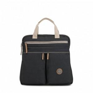 Kipling Petit sac à dos et à main 2 en 1 Casual Grey Pas Cher