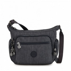 Kipling Petit sac bandoulière à compartiments multiples Active Denim [ Soldes ]