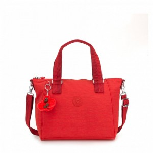 Kipling Sac à Main Medium Avec Bretelle Amovible Active Red Pas Cher