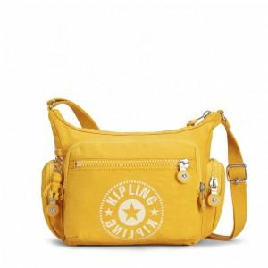 Kipling Sac Bandoulière avec Compartiment pour Téléphone Lively Yellow [ Soldes ]
