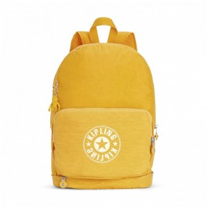 Kipling Sac Cabas avec Sangle Détachable Lively Yellow