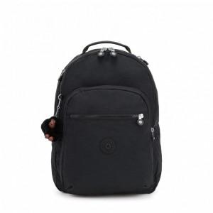 Kipling Grand Sac à Dos Avec Protection Pour Ordinateur Portable True Black [ Soldes ]