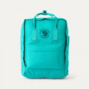 FJALLRAVEN Sac à dos RE-KÅNKEN 16L Vert D'Eau [ Promotion Black Friday 2020 Soldes ]