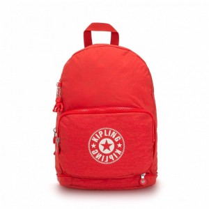 Kipling Sac Cabas avec Sangle Détachable Active Red NC Pas Cher