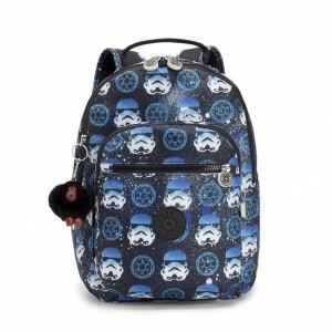 Kipling Petit sac à dos à imprimé Star Wars INTERSTORM Pas Cher