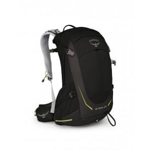 Osprey Sac de randonnée homme - Stratos 24 Black - Marque [ Soldes ]