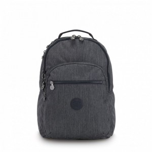 Kipling Large backpack (with laptop protection) Active Denim Pas Cher