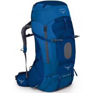 Osprey Sac de trekking et grande randonnée homme - Aether AG 85 Neptune Blue - Marque [ Promotion Black Friday 2020 Soldes ]