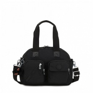 Kipling Medium shoulderbag (with removable shoulderstrap) True Black [ Soldes ]