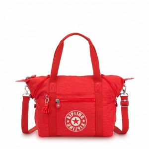 Kipling Sac Cabas avec Sangle Détachable Active Red NC [ Soldes ]