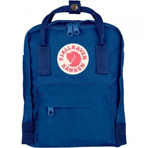 FJALLRAVEN Kånken Mini - Sac à dos - bleu Bleu [ Promotion Black Friday 2020 Soldes ]