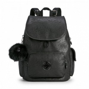 Kipling Sac à Dos City Black Foam Pas Cher