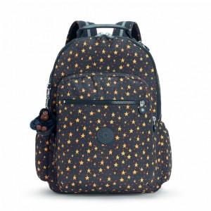 Kipling Grand Sac à Dos avec Protection pour Ordinateur Portable Cool Star Boy Pas Cher
