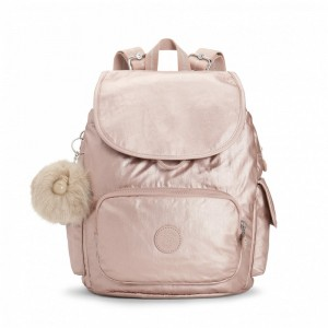 Kipling Petit Sac à Dos Metallic Blush [ Promotion Black Friday 2020 Soldes ]