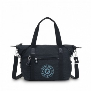 Kipling Sac Cabas avec Sangle Détachable Lively Navy