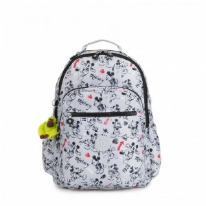 Kipling Grand sac à dos avec protection pour laptop Sketch Grey [ Promotion Black Friday 2020 Soldes ]