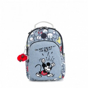 Kipling Petit sac à dos avec protection pour tablette Threechrb2 Pas Cher
