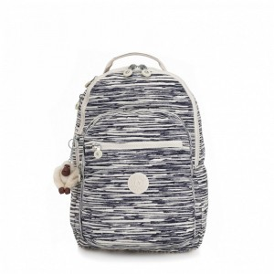 Kipling Grand Sac à Dos Avec Protection Pour Ordinateur Portable Scribble Lines [ Promotion Black Friday 2020 Soldes ]